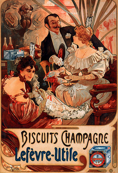 410px-Alfons_Mucha_-_1896_-_Biscuits_Champagne-Lefèvre-Utile