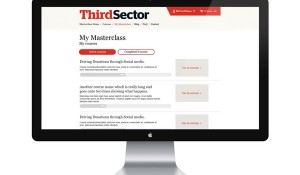 Third Sector Masterclass UX & UI
